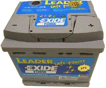 Exide akku 53[Ah] SafePower