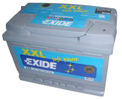 Exide akku 105[Ah] SafePower