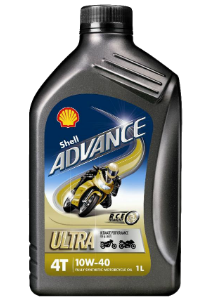 Shell Advance Ultra 4 10W-40 Motork. olaj 1 liter